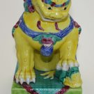 Chinese Porcelain Foo Dog or Guardian Lion