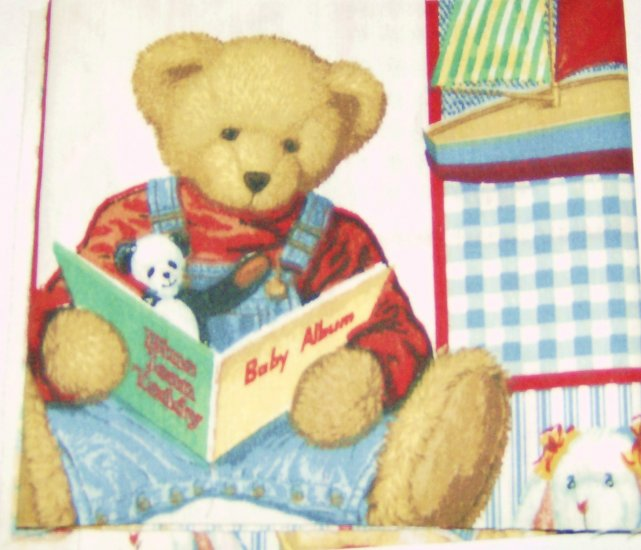 Teddy Bear Fabric