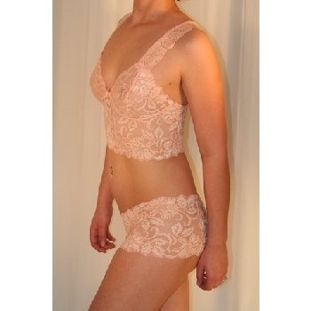 NWT Women hot Lace Short Cami Set size L