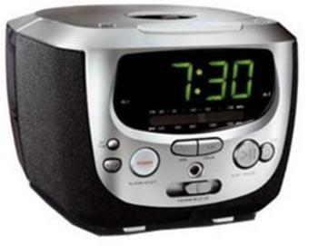 Philips CD AM/FM Clock Radio