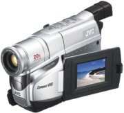 JVC Compact VHS-C Camcorder