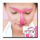 Eyebrow template Stencil Shaping DIY tool