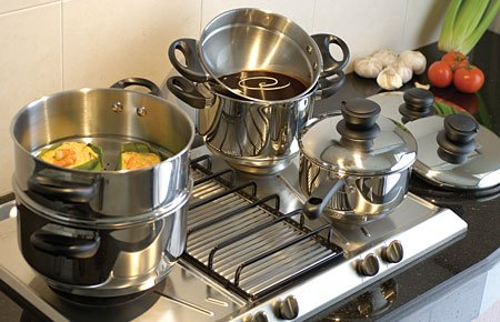 8pc Tupperchef Cookware Set