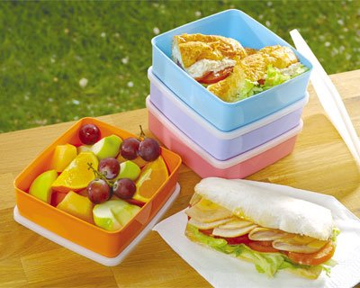 680ml Large Square Away Set (4)