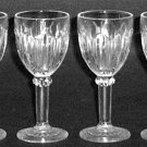 Hocking Colonial Knife and Fork Cordials Crystal Depression Glass