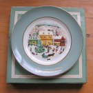Avon Wedgwood Country Christmas Plate 1980