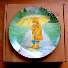Vintage Collector Plate Sunny Umbrella Little Girls Collection Robert Anderson