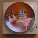 Vintage Collector Plate Waltz of Flowers Nutcracker Ballet Viletta China Shell Fisher