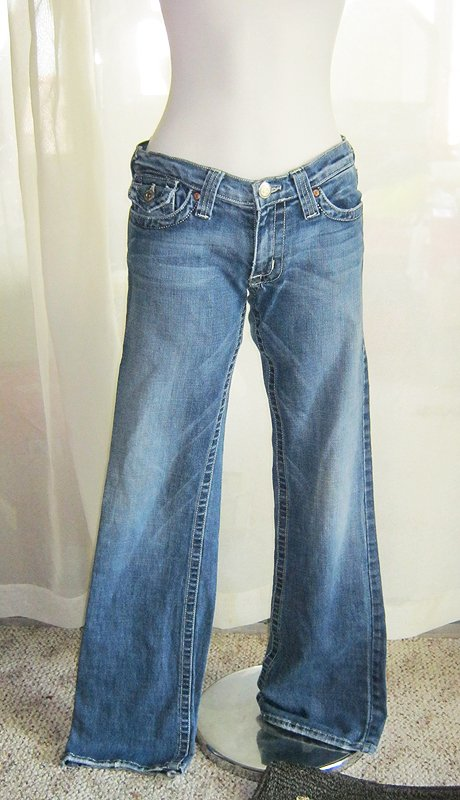 Five Pocket Flared Jeans
