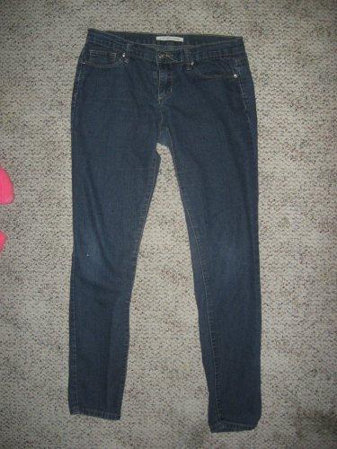 Dark Blue Stretch Denim Pants size 27