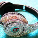Custom Swarovski Beats By Dre Headphones
