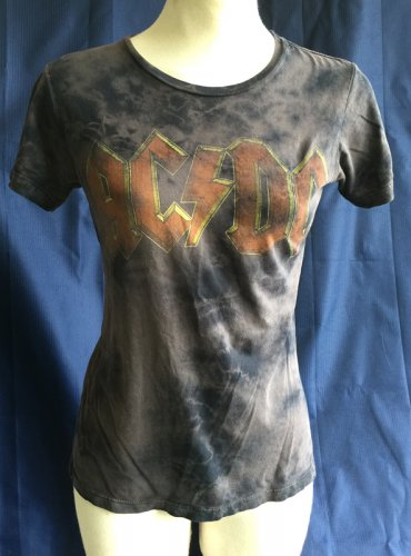 Junk Food AC/DC 'Back In Black' Tour Top M
