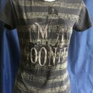 Dark Grey 'I'M A GOONIE' Junk Food Tee - S