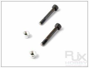 FL500-80179 3mm nut +3x20  screw IN STOCK