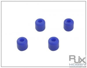 HA0428-7BLU landing skid Rubber Nut