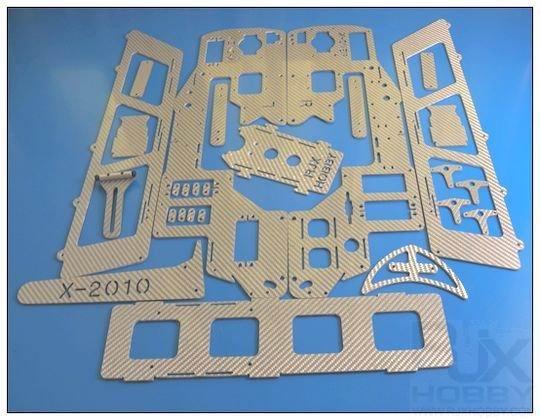 X50 nitro to elec. conversion kit Silver