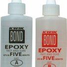 Kwik Bond Epoxy - 5 Minute 9 Oz IN Stock