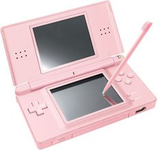 Nintendo Coral Pink DS Lite