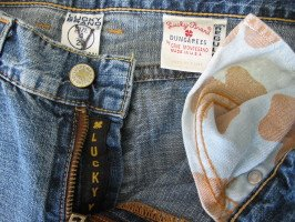 Lucky Brand Jeans Denims Sz 4/27 Long BKE 32