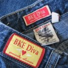 Buckle Brand Jeans Denims DIVA Park Ave Sz 27  BKE 35