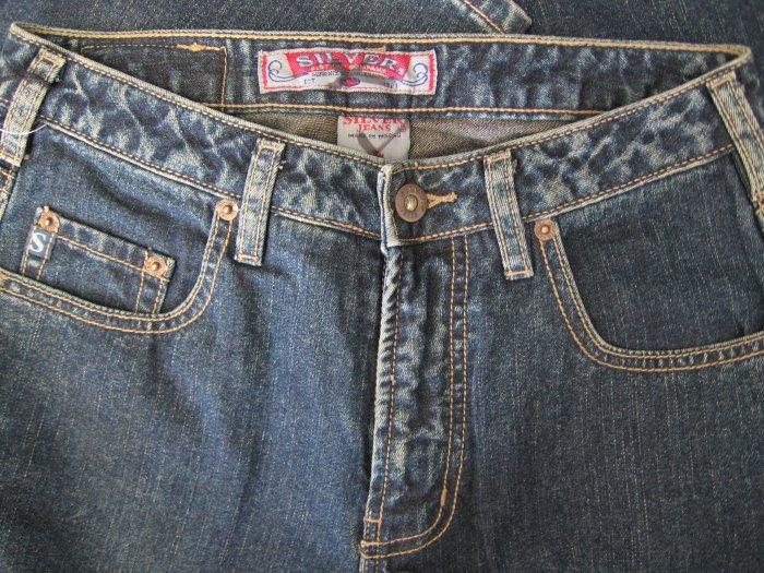 Silver Jeans Denims Sz 27/31 BKE 48