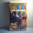 TEEN TITANS - DIVIDE AND CONQUER  New VHS animated tv series