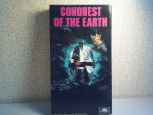 CONQUEST OF THE EARTH vhs movie