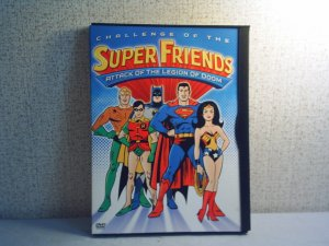 Superfriends: Attack of the Legion of Doom  DVD animated tv series
