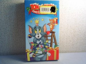 Tom and Jerry Paws for the Holidays New sealed vhs animation