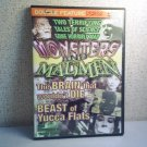 MONSTERS AND MADMEN -   Double Feature movie dvd