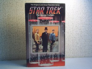 THE ORIGINAL AND UNCUT TELEVISION SERIES STAR TREK - The SAVAGE CURTAIN  BETA  format video cassette