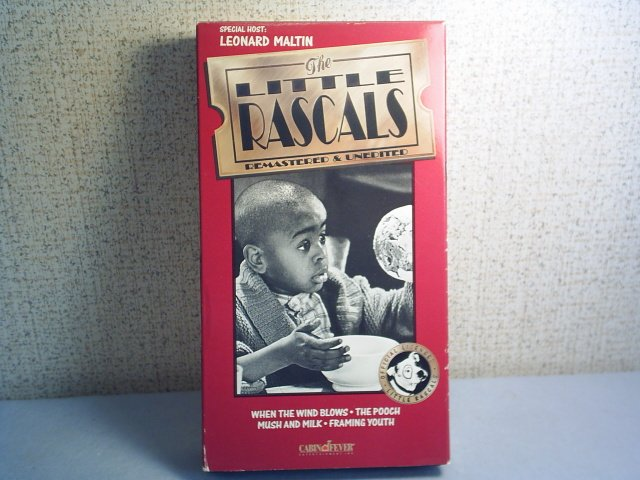 THE LITTLE RASCALS - REMASTERED & UNCUT  - WHEN THE WIND BLOWS vhs movie