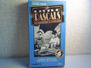 THE LITTLE RASCALS - REMASTERED & UNEDITED - Railroadin' -  vhs movie