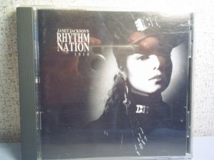 Janet Jackson - Rhythm Nation - music cd