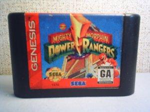 MIGHTY MORPHIN POWER RANGERS - Sega Genesis video game