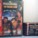 WRESTLEMANIA THE ARCADE GAME - SEGA GENESIS VIDEO GAME