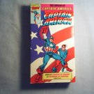 CAPTAIN AMERICA - ORIGIN OF CAPTAIN AMERICA - VHS - tv series