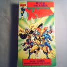 X-MEN - PRYDE OF THE X-MEN -  VHS - tv series pilot