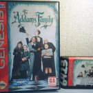ADDAMS FAMILY  - SEGA GENESIS VIDEO GAME