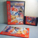 SONIC SPINBALL - SEGA GENESIS VIDEO GAME