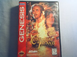 Cutthroat Island - Sega Genesis Video Game