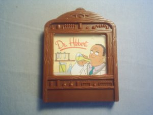 SIMPSONS DR. HIBBERT / MR. HYDE KIDS MEAL TOY
