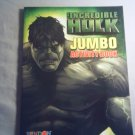INCREDIBLE HULK JUMBO ACTIVITY BOOK - NEW