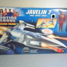 Mattel JUSTICE LEAGUE ELECTRONIC MISSION VISION  JAVELIN 7  SHIP   WITH FLASH FIGURE - NEW