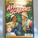 ABBOTT & COSTELLO AFRICA SCREAMS - DVD MOVIE