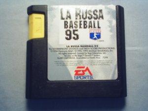 LA RUSSA  BASEBALL - SEGA GENESIS VIDEO GAME