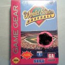 WORLD SERIES BASEBALL SEGA GAME GEAR VIDEO GAME