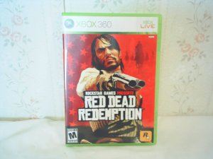 RED DEAD REDEMPTION  xbox 360 video game