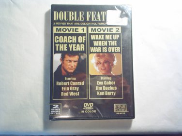 COACH OF THE YEAR / WAKE ME WHEN THE WAR IS OVER DVD MOVIE NEW