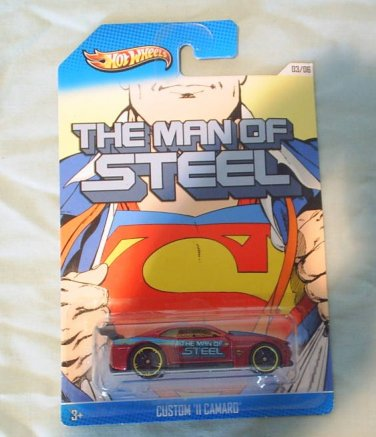 HOT WHEELS MAN OF STEEL CUSTOM '11 CAMARO NEW